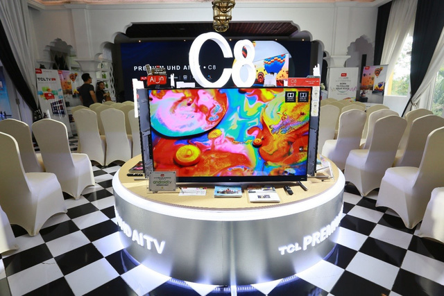 TCL chính thức 'tái xuất'trên đường đua tivi thông minh với 'chiến binh' UHD AI TV C8 - Ảnh 4.