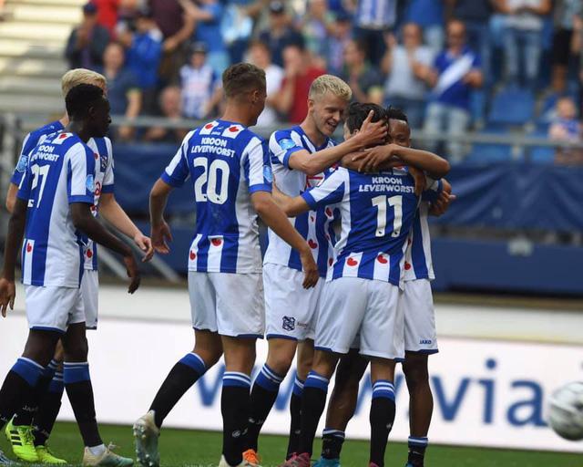 Văn Hậu dự bị, SC Heerenveen hòa đáng tiếc FC Utrecht - Ảnh 1.