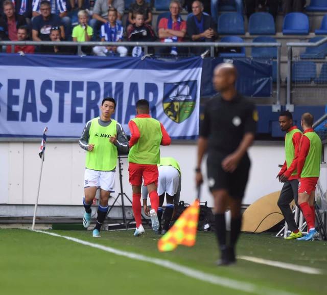 Văn Hậu dự bị, SC Heerenveen hòa đáng tiếc FC Utrecht - Ảnh 3.