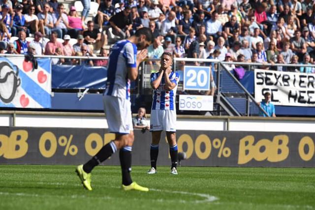 Văn Hậu dự bị, SC Heerenveen hòa đáng tiếc FC Utrecht - Ảnh 2.