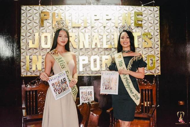 """Hoa hậu Trái đất Phương Khánh đẹp """"hút hồn"""" phủ sóng truyền thông Philippines - Ảnh 6."""