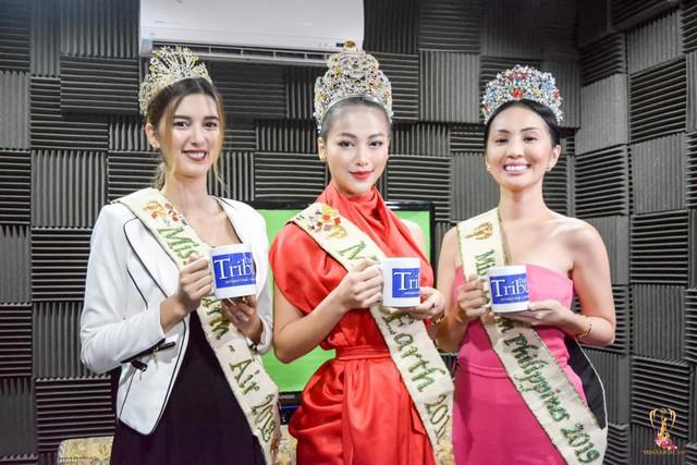 """Hoa hậu Trái đất Phương Khánh đẹp """"hút hồn"""" phủ sóng truyền thông Philippines - Ảnh 4."""