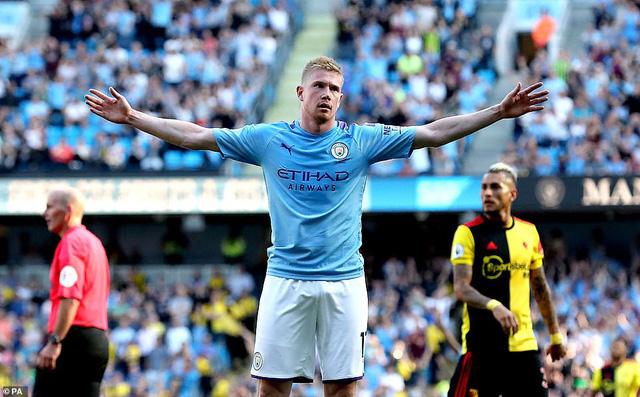 Đội hình tiêu biểu vòng 5 Ngoại hạng: Hàng công Man City rực sáng - Ảnh 2.