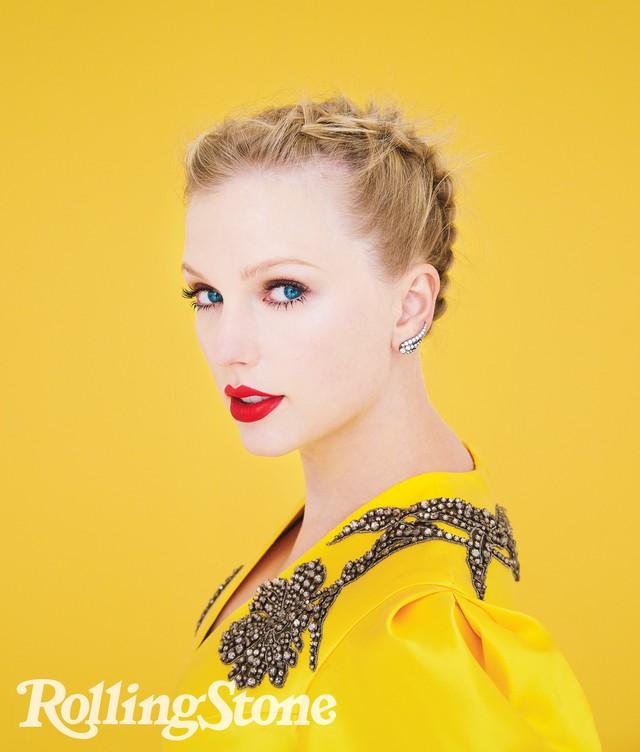 Taylor Swift đầy sắc màu trên Rolling Stone - Ảnh 3.