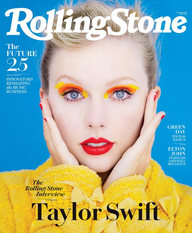 Taylor Swift đầy sắc màu trên Rolling Stone - Ảnh 2.