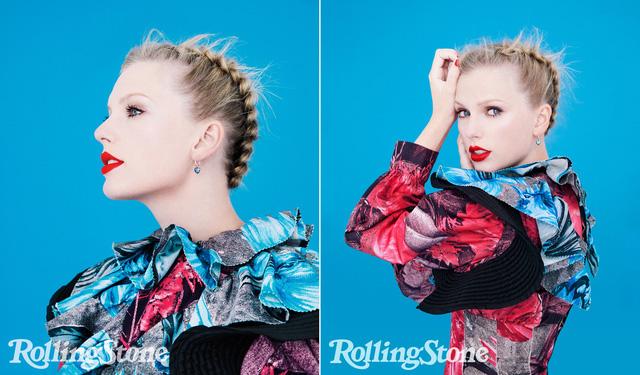 Taylor Swift đầy sắc màu trên Rolling Stone - Ảnh 1.