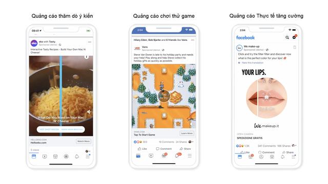 Facebook tung giải pháp quảng cáo mới, khuyến khích trải nghiệm vui nhộn - Ảnh 1.