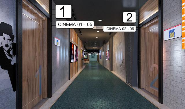 Khám phá cụm rạp chiếu phim đầu tiên của DCINE tại TP Hồ Chí Minh - Ảnh 1.