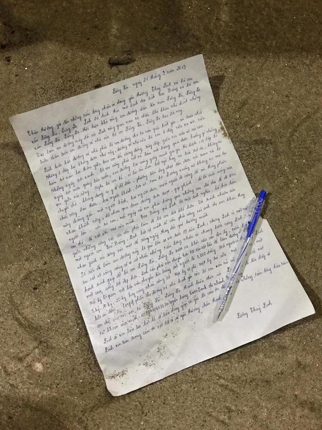 """Hoa hậu Lương Thùy Linh và bức thư viết tay xúc động kêu gọi cho dự án """"Đắp đường, xây ước mơ"""" - Ảnh 2."""