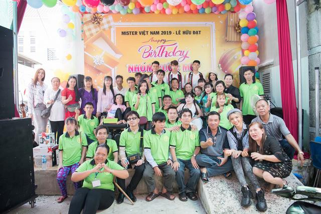 Á quân Mister Việt Nam Lê Hữu Đạt tổ chức sinh nhật cho mái ấm người khuyết tật - Ảnh 3.