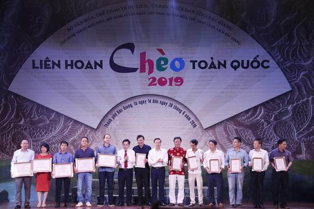 Liên hoan Chèo toàn quốc 2019: Khép lại một mùa hội Chèo thành công - Ảnh 9.