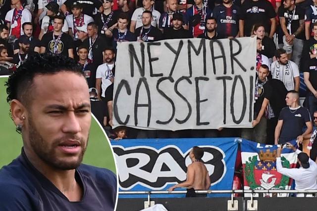 Neymar ví fan PSG với... bạn gái - Ảnh 1.