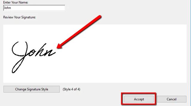 Hướng dẫn ký tên lên văn bản PDF trên máy tính và điện thoại - Ảnh 6.