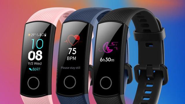 Vòng đeo tay thông minh Honor Band 5 có giá chỉ còn 599.000 đồng - Ảnh 1.