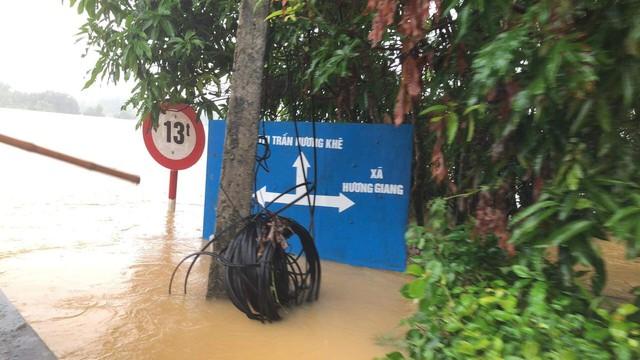 Hà Tĩnh: Nước ngập cao hơn mức báo động 3 gần 1m - Ảnh 10.