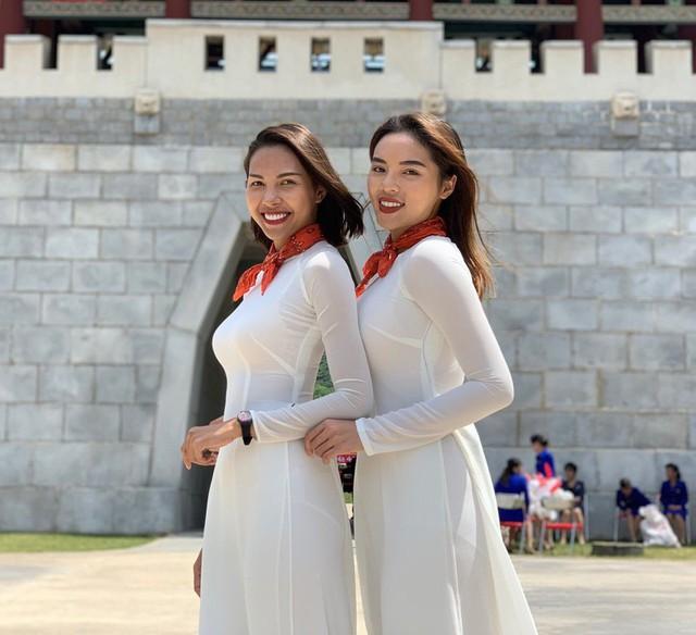 Hoa hậu Kỳ Duyên - Minh Triệu với những hình ảnh ngọt ngào tại Cuộc đua kỳ thú 2019 - Ảnh 3.