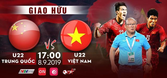 [17h, ngày 8/9] U22 Trung Quốc - U22 Việt Nam: Xem trực tiếp bằng cách nào? - Ảnh 1.