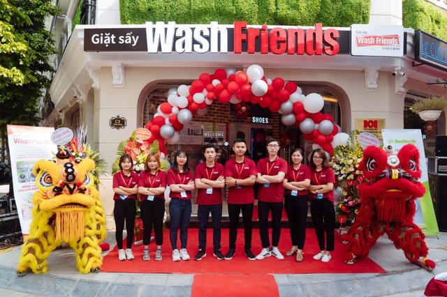 Wash Friends giới thiệu mô hình cửa hàng giặt sấy chuẩn Hàn Quốc tại Việt Nam - Ảnh 4.