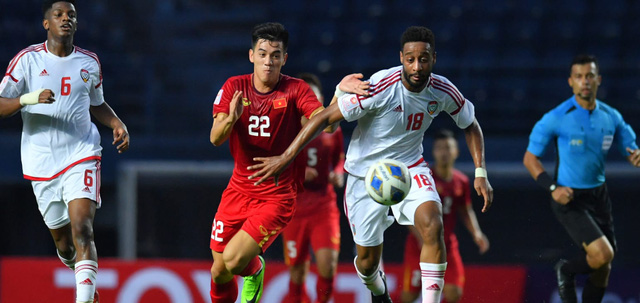 ẢNH: Nhìn lại trận đấu U23 Việt Nam 0-0 U23 UAE qua những khoảnh khắc của AFC - Ảnh 11.