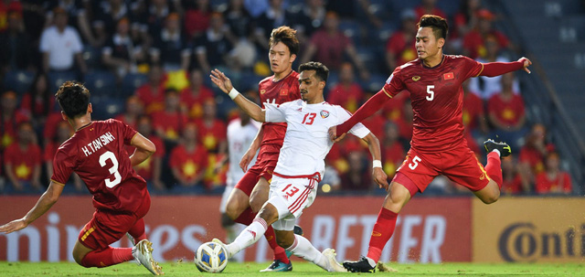 ẢNH: Nhìn lại trận đấu U23 Việt Nam 0-0 U23 UAE qua những khoảnh khắc của AFC - Ảnh 7.