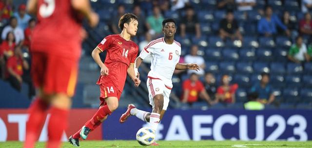 ẢNH: Nhìn lại trận đấu U23 Việt Nam 0-0 U23 UAE qua những khoảnh khắc của AFC - Ảnh 6.