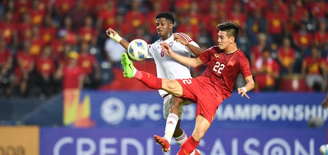 ẢNH: Nhìn lại trận đấu U23 Việt Nam 0-0 U23 UAE qua những khoảnh khắc của AFC - Ảnh 4.
