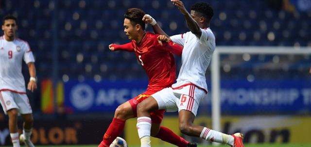 ẢNH: Nhìn lại trận đấu U23 Việt Nam 0-0 U23 UAE qua những khoảnh khắc của AFC - Ảnh 3.