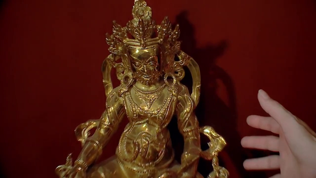 Nước mắt loài cỏ dại - Tập 18: Bà Phương (NSƯT Mỹ Uyên) trộm tượng vàng trong phòng thờ? - Ảnh 10.