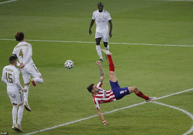 Real Madrid đoạt Siêu cúp Tây Ban Nha sau loạt luân lưu cân não - Ảnh 1.