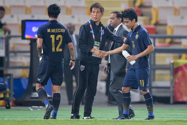 Thái Lan chính thức sa thải HLV Akira Nishino - Ảnh 1.