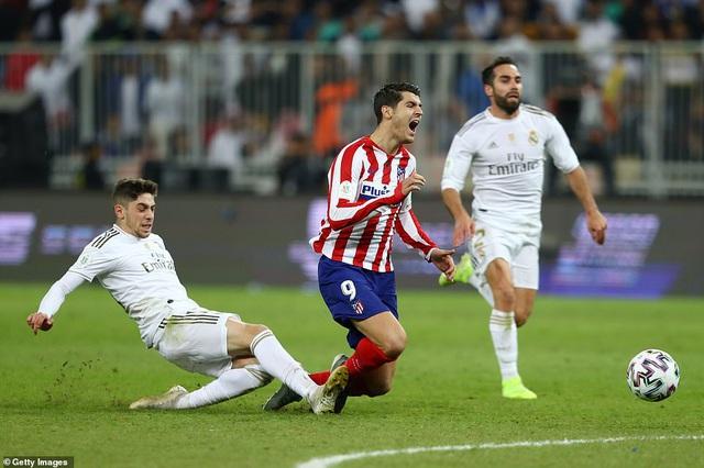 Real Madrid đoạt Siêu cúp Tây Ban Nha sau loạt luân lưu cân não - Ảnh 2.