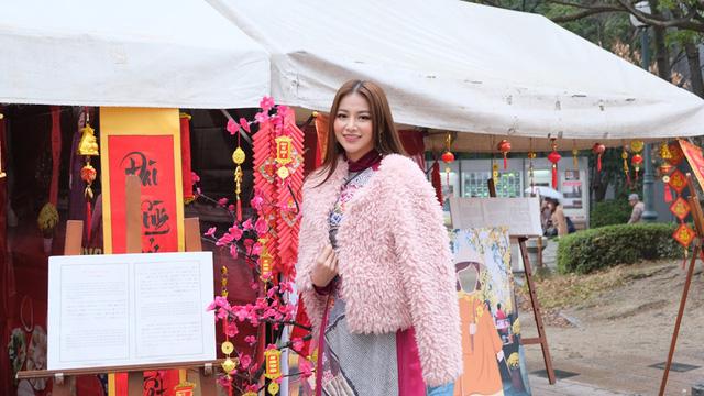 Hoa hậu Phương Khánh diện áo dài catwalk cùng diễn viên Tuấn Tú - Ảnh 9.