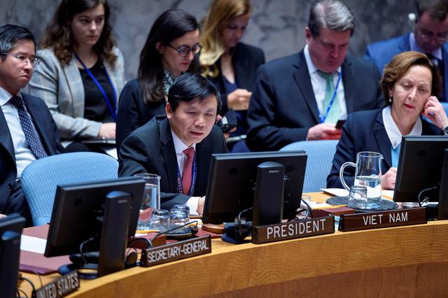 HĐBA LHQ yêu cầu Thỏa thuận An-giê cần được thúc đẩy triển khai mạnh mẽ - Ảnh 1.