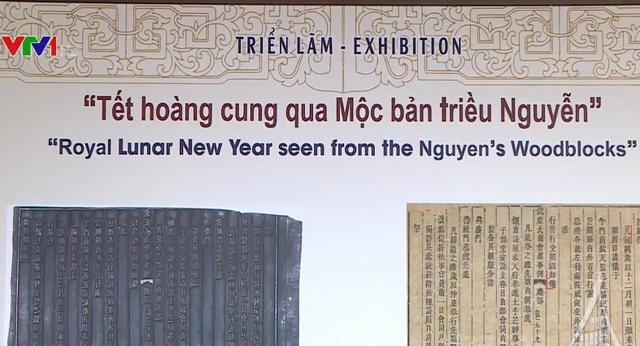Triển lãm Tết hoàng cung qua Mộc bản triều Nguyễn - ảnh 1