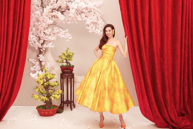 hoa hau khanh vandress by do manh cuong 1 157941530894279952948 Ngẩn ngơ ngắm bộ ảnh chúc xuân Canh Tý 2020 của dàn Hoa hậu Hoàn vũ Việt Nam