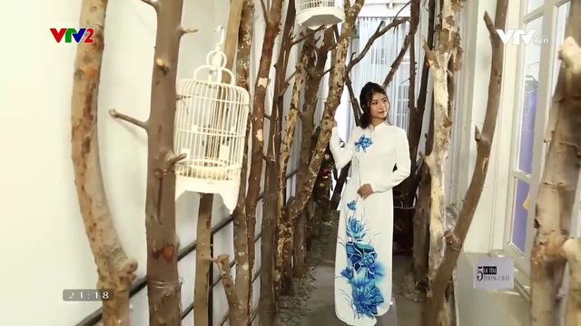 Gợi ý chọn áo dài truyền thống du xuân - Ảnh 5.
