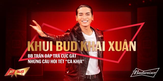 Budweiser cùng BB Trần tung show hài độc thoại, khuấy động không khí mùa Tết - Ảnh 5.