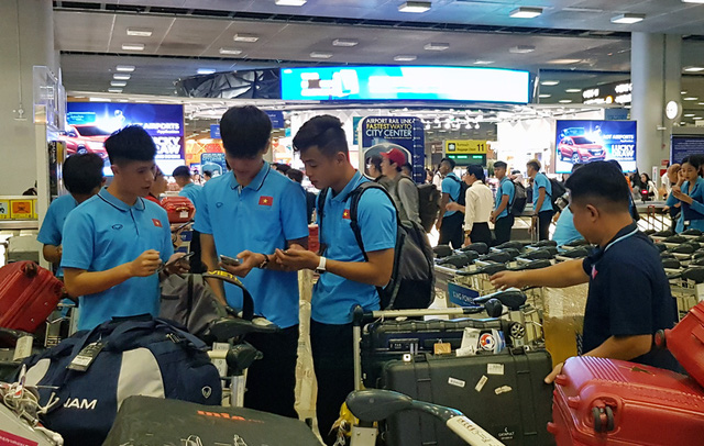 U23 Việt Nam đã có mặt tại Thái Lan, chính thức bước vào chiến dịch VCK U23 châu Á 2020 - Ảnh 6.