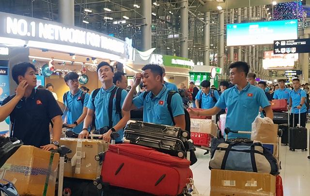U23 Việt Nam đã có mặt tại Thái Lan, chính thức bước vào chiến dịch VCK U23 châu Á 2020 - Ảnh 5.