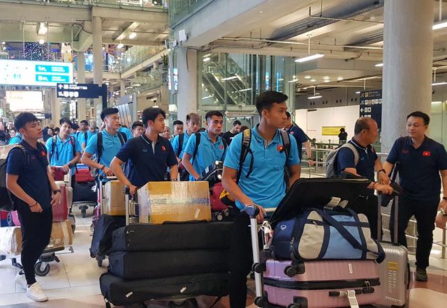U23 Việt Nam đã có mặt tại Thái Lan, chính thức bước vào chiến dịch VCK U23 châu Á 2020 - Ảnh 1.