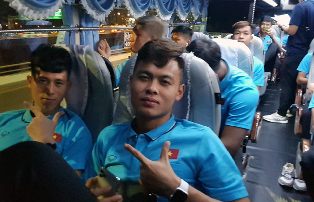 U23 Việt Nam đã có mặt tại Thái Lan, chính thức bước vào chiến dịch VCK U23 châu Á 2020 - Ảnh 4.