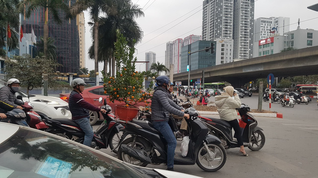 Bến xe thông thoáng, người dân thảnh thơi về quê ăn Tết Canh Tý 2020 - ảnh 1