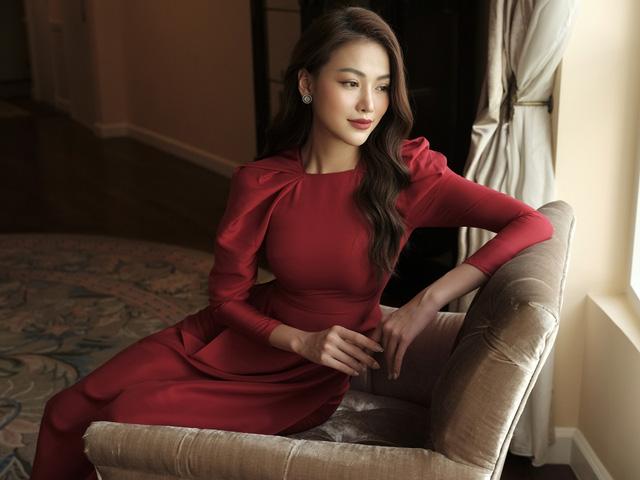 Phương Khánh hoá tiểu thư ngọc ngà trong bộ ảnh áo dài Tết - Ảnh 7.