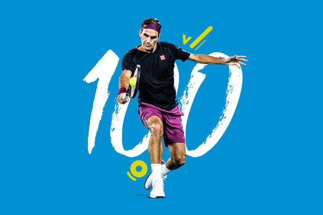 Roger Federer lập kỷ lục 100 trận thắng tại Australia mở rộng - Ảnh 1.