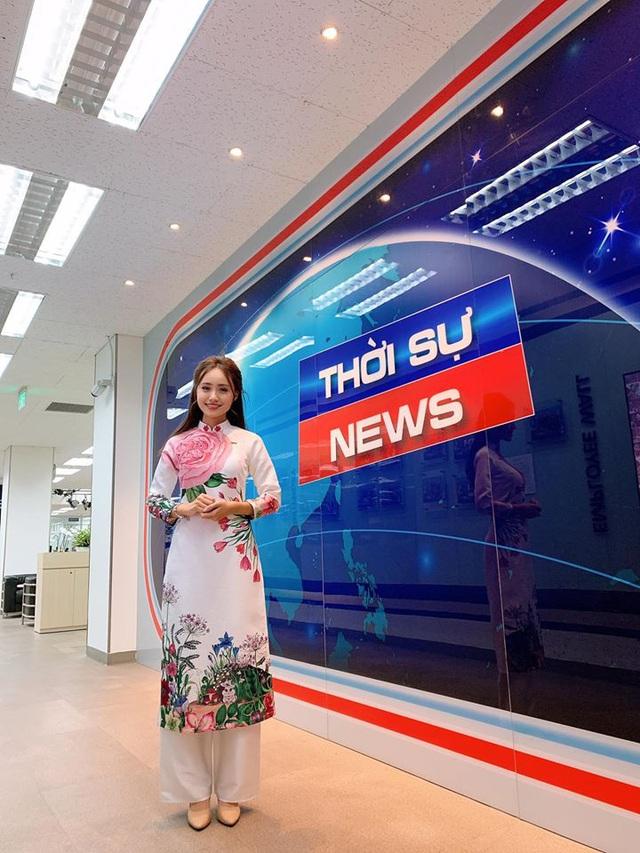 Nữ MC, BTV VTV diện áo dài duyên dáng dịp Tết - Ảnh 12.
