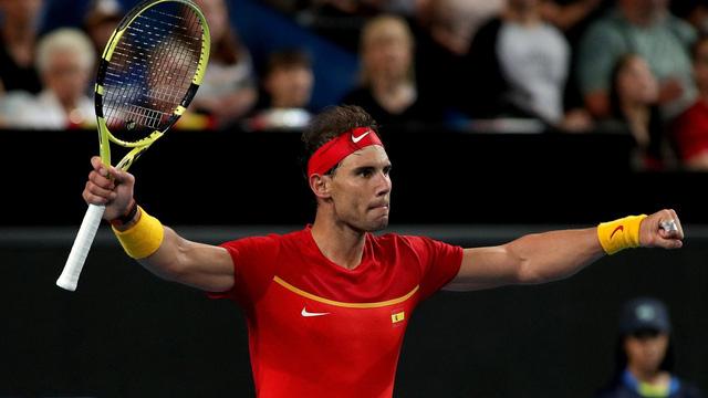 ATP Cup 2020: Nadal giúp ĐT Tây Ban Nha có chiến thắng đầu tiên - Ảnh 3.