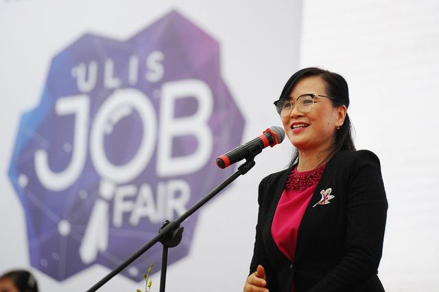 Sôi nổi và ý nghĩa Ngày hội việc làm – ULIS Job Fair 2020 - Ảnh 1.