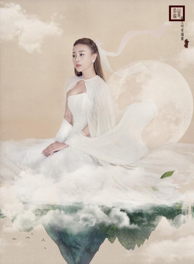 Phương Oanh hóa chị Hằng xinh đẹp như thần tiên tỷ tỷ - Ảnh 4.