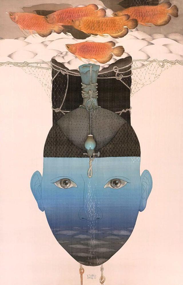 Talk cùng họa sĩ Vũ Đình Tuấn với chủ đề Đẹp - Xấu trong nghệ thuật tạo hình - Ảnh 4.