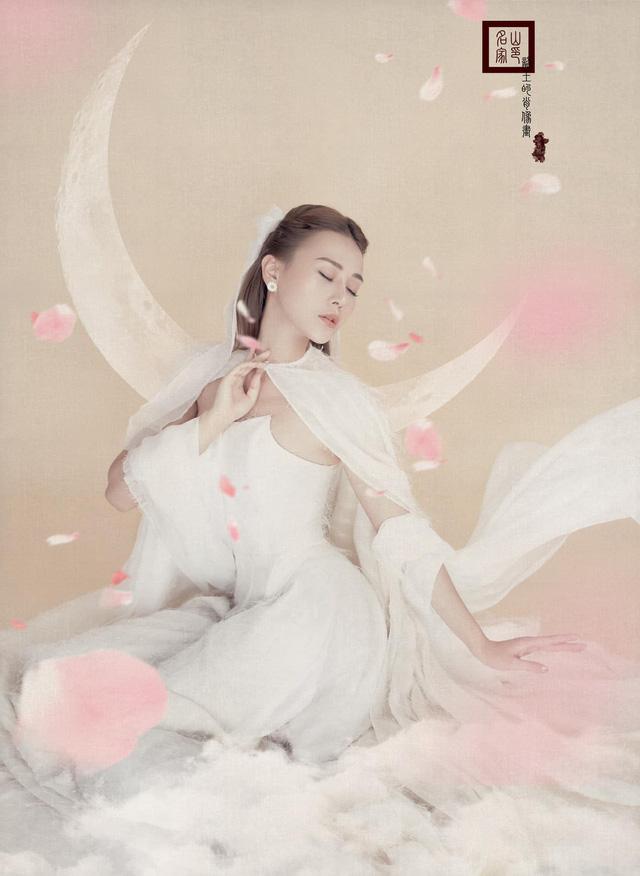 Phương Oanh hóa chị Hằng xinh đẹp như thần tiên tỷ tỷ - Ảnh 7.